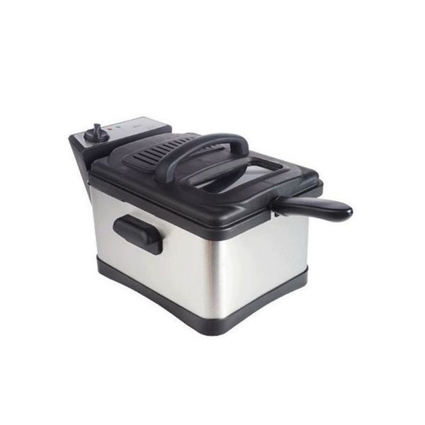 Deni 4.5-Quart Stainless Steel Non-Stick Deep Fryer