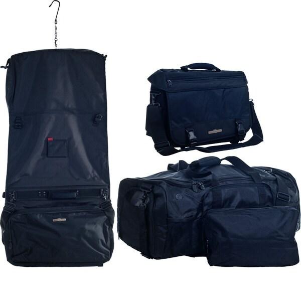 Armor Gear 3-piece Garment/Duffel/Messenger Luggage Set