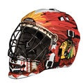 Franklin NHL Team Chicago Blackhawks SX Comp GFM 100 Goalie Face Mask