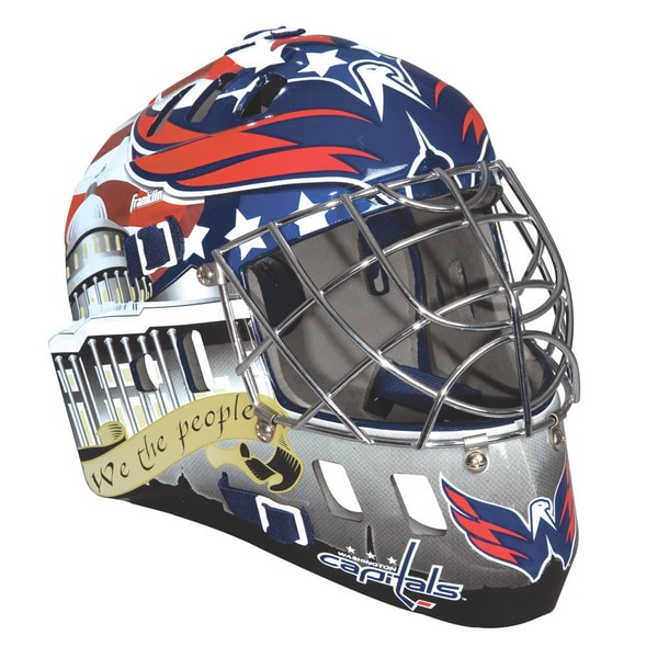 NHL Team Washington Capitals SX Comp GFM 100 Goalie Face Mask