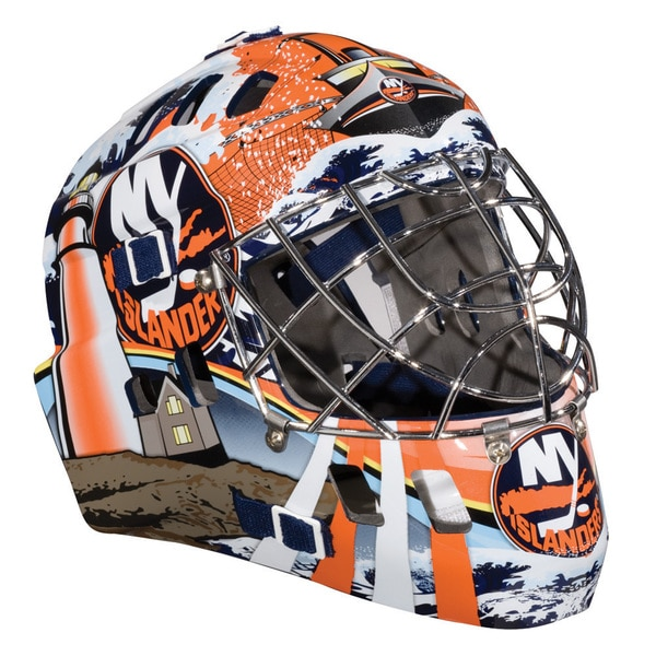 NHL Team New York Islanders SX Comp GFM 100 Goalie Face Mask