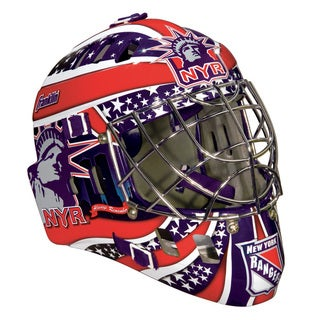 NHL Team New York Rangers SX Comp GFM 100 Goalie Face Mask