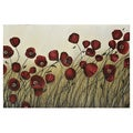 Manuela Jarry 'Blowing Meadows' Gallery-wrapped Canvas Art