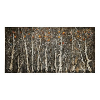 Lecavalier 'Rugged Forest' Hand-painted Canvas Art