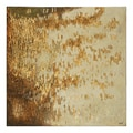 Charlene Lynch 'Gold Rush' Hand-painted Canvas Art