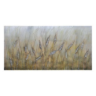 Lecavalier 'Wheat Fields' Hand-painted Canvas Art