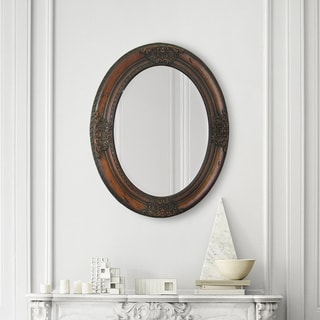 Ren Wil Chelsea Cherry Wood Mirror