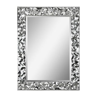 Couture Silver Finish Mirror