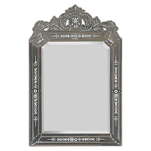 Mansard Vinetian Style Mirror