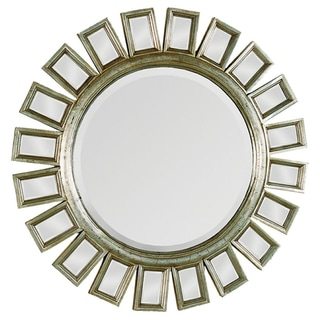 Carwyn Gold Finish Accented Mirror