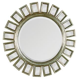 Carwyn Gold Finish Accented Mirror