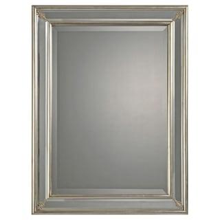 Bronwen Silver Leafed Mirror