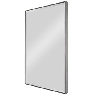 Onice Silver Framed Mirror