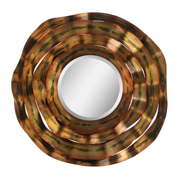 Dakota Oxidized Waves Mirror