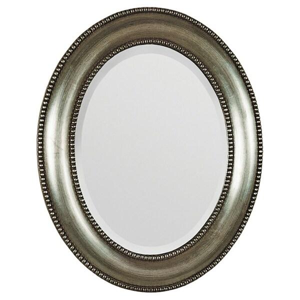 Bellini Silver Beveled Mirror