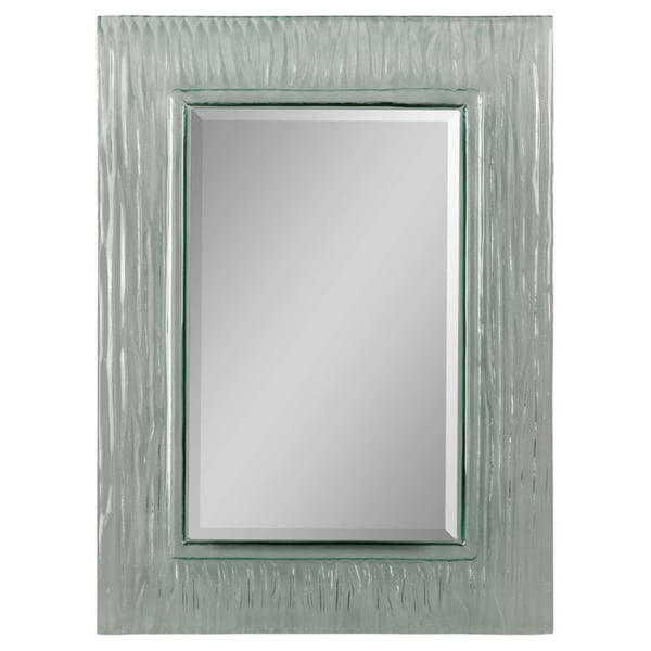 chrysopal glass wave frame mirror 14936547 overstock