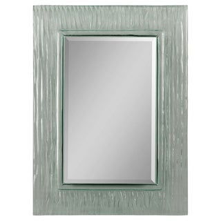 Chrysopal Glass Wave Frame Mirror