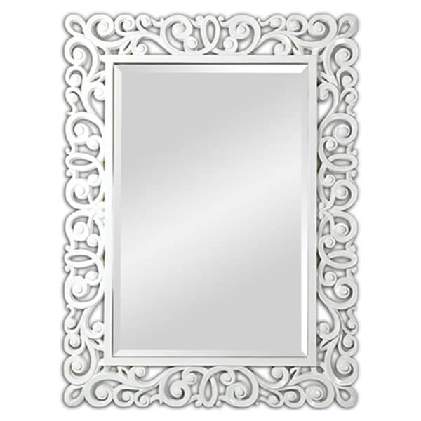 Anotella High-gloss White Mirror