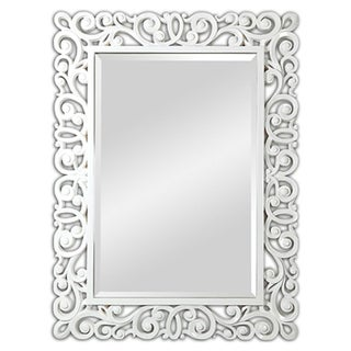 Ren-Wil Anotella High-gloss White Mirror