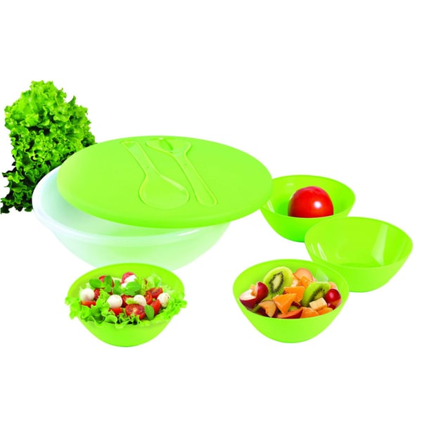 KitchenWorthy 8-piece Salad and Serving Set