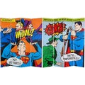 Six-Foot Tall Double Sided 'Superman Classic' Canvas Room Divider