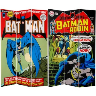 6 ft. Tall Double Sided Batman Canvas Room Divider (China)