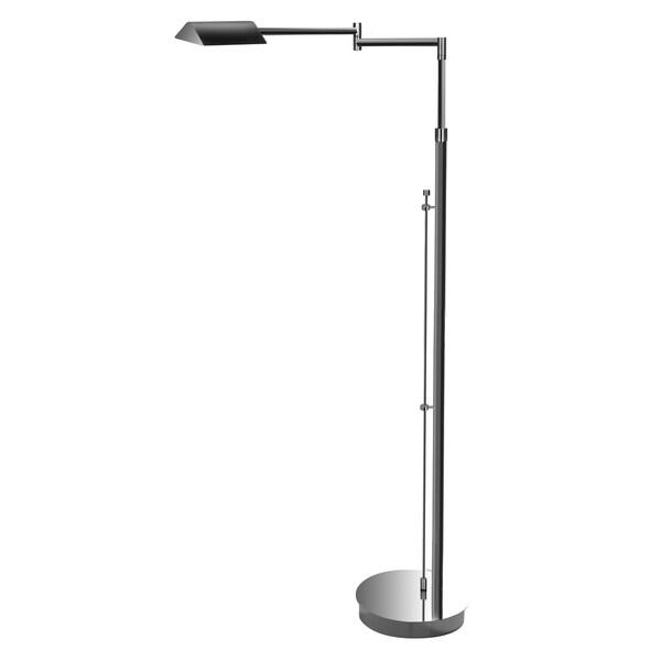 Mondoluz 'Multiforme' 1-light Chromium Floor Lamp