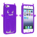 BasAcc Purple Devil Silicone Case for Apple iPhone 5