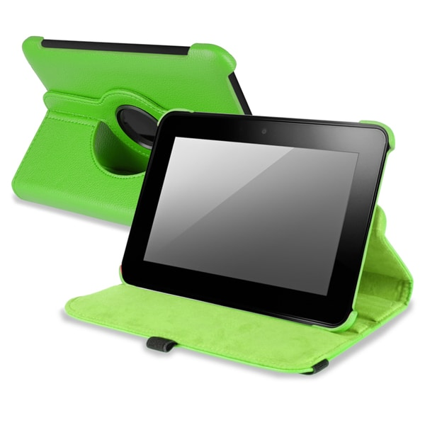 BasAcc Green Version 2 Swivel Case for Amazon Kindle Fire HD 7-INCH