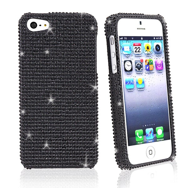 BasAcc Black Diamond Snap-on Case for Apple iPhone 5