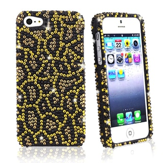 BasAcc Jaguar Diamond Snap-on Case for Apple iPhone 5