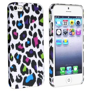 BasAcc Colorful Leopard Snap-on Rubber Case for Apple� iPhone 5