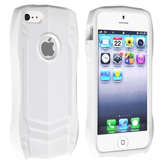 BasAcc White Sports Car TPU Rubber Skin Case for Apple� iPhone 5