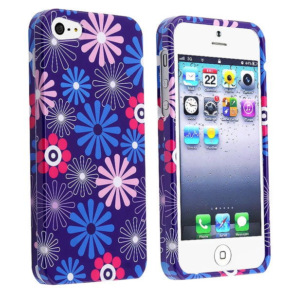 BasAcc Flower Fireworks Snap-on Case for Apple® iPhone 5