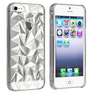 BasAcc Clear Diamond Cut Snap-on Case for Apple� iPhone 5