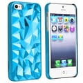 BasAcc Clear Blue Diamond Cut Snap-on Case for Apple� iPhone 5