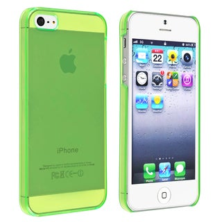 BasAcc Clear Green Snap-on Slim Case for Apple� iPhone 5/ 5S