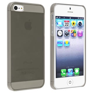 BasAcc Clear Smoke Snap-on Slim Case for Apple� iPhone 5