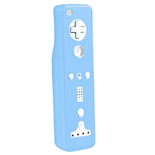 BasAcc Blue Silicone Skin Case for Nintendo Wii Remote Controller
