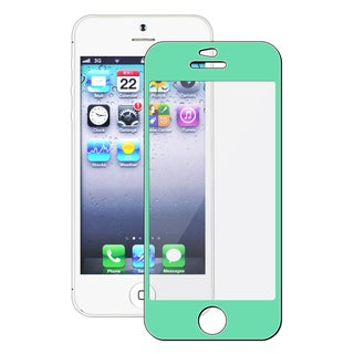 INSTEN Green Colorful Frame Screen Protector for Apple iPhone 5