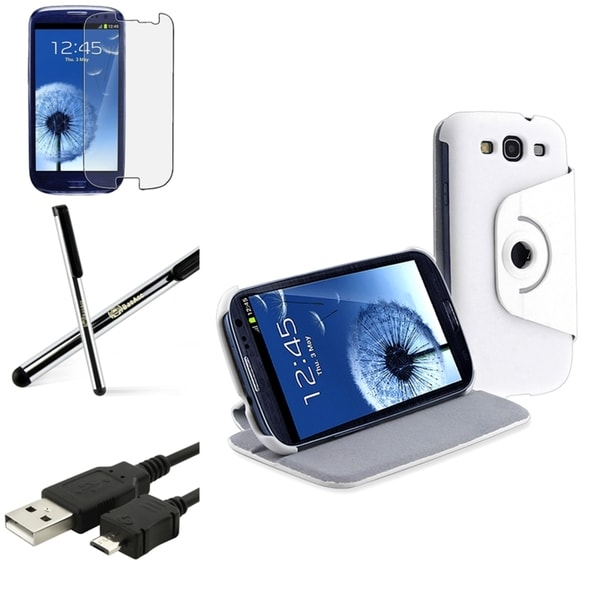 BasAcc Case/ Screen Protector/ Stylus for Samsung© Galaxy S3