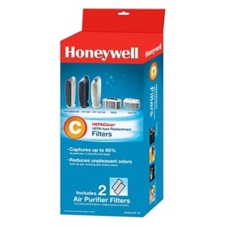 Honeywell HRF-C2 HEPAClean Replacement Filter- 2 Pack 10264289