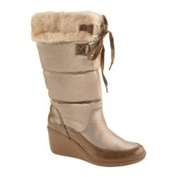 Women's AK Sport Rigatoni Taupe Natural Synthetic
