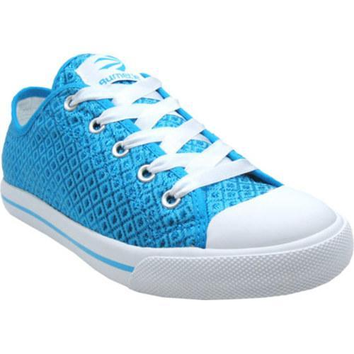 Women's Burnetie Ox Polyester Cyan Blue