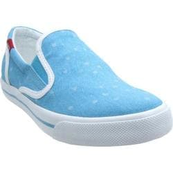 Women's Burnetie Skid Prints Milky Blue/Whispering Blue