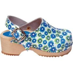 Girls' Cape Clogs Twin Flower Blue/Green