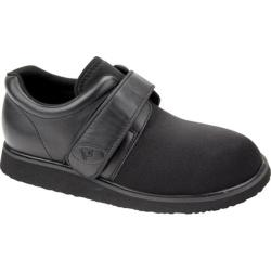 Men's Propet Preferred PedWalker 3 Black Smooth/Nylon