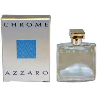 Loris Azzaro 'Chrome' Men's 0.23-ounce Eau de Toilette Splash (Mini)