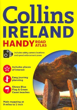 Collins Ireland Handy Road Atlas (Paperback)