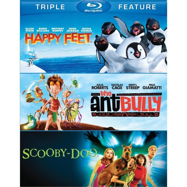 Happy Feet/The Ant Bully/Scooby-Doo: The Movie (Blu-ray Disc) 10269039